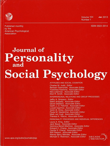 journal of personality and social psych